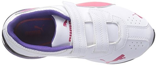 Puma Tazon 6 Breite Synthetik Cross-Training White Rose/Red Prism/Violet