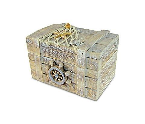 Just Contempo Nautical Décor Vintage–Boîte à bijoux