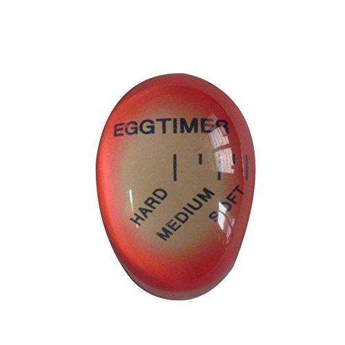 Katech Timer bollito d'uovo Uova Cambia Colore Perfect Kitchen Gadget Riutilizzabile termometro per Cottura Uova