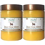 Farm Naturelle-(2 Bottles x 600 Ml)100% Pure Desi Cow Ghee from A2 Milk