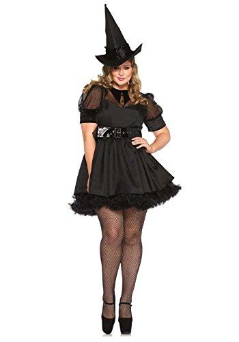 Leg Avenue 85238X - Bewitching Witch Damen kostüm , Größe 3X-4X (EUR 48-50)