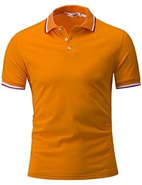 Gladiolus Polo Hombre Collar Polo Camisa Golf De Tenis Camiseta Polo Camiseta De Manga Corta