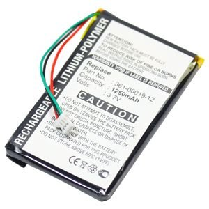 subtel® Batería para GPS Garmin Edge 605 Edge 705 - 1250mAh navegación...
