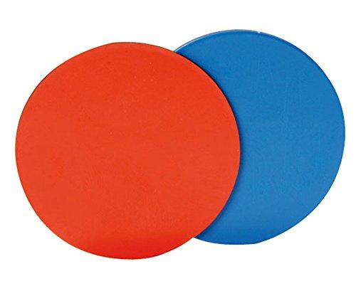 Betzold 86234 - Mathematik Wendeplättchen für die Tafel 20 Stück Durchmesser 5cm Rot und Blau (Blaue Tafel)