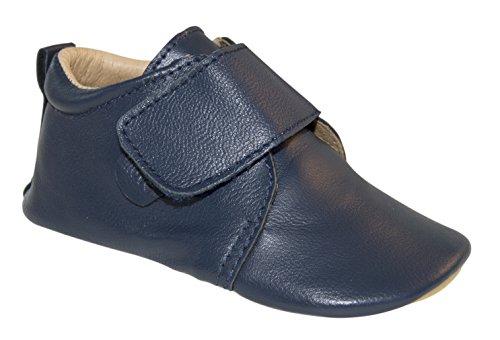 6d65ad840ab95e Move by Melton Baby Boys  Prewalker Velcro Lauflernschuh Jungen First Shoes  - House Shoes Blue