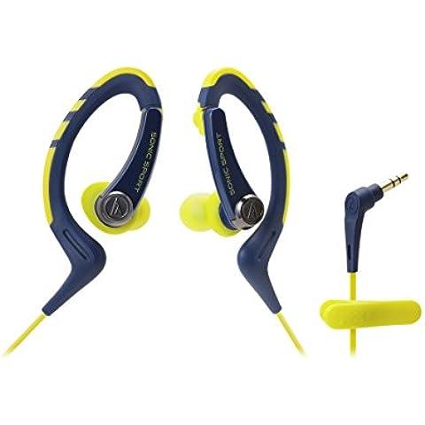 Audio-Technica ATH-SPORT1 Intraaural gancho de oreja - Auriculares (Intraaural, gancho de oreja, 3.5 mm (1/8