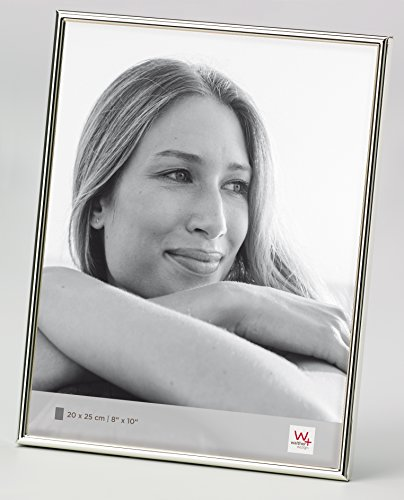 Walther design WD025S Chloe Portraitrahmen, 20 x 25 cm, silber