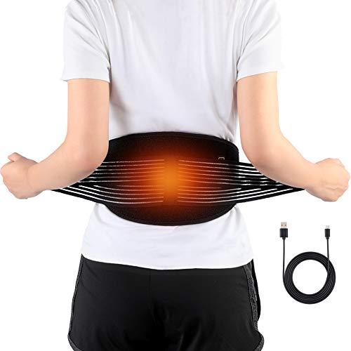 Doact Lendenwirbelgürtel Rücken, Büste Rücken Frau und Mann Orthopädie Bandagen Taillenwärme Elektrische Polsterung Arthritis Belastungen Steifheit Linderung Thermische Wirbelschmerzen