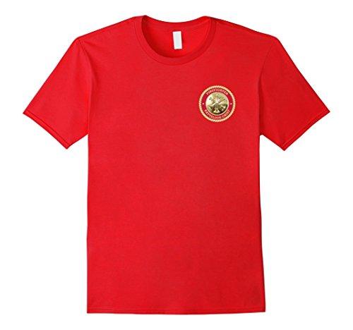 mens-battalion-chief-firefighter-3-bugle-t-shirt-herren-gre-xl-rot
