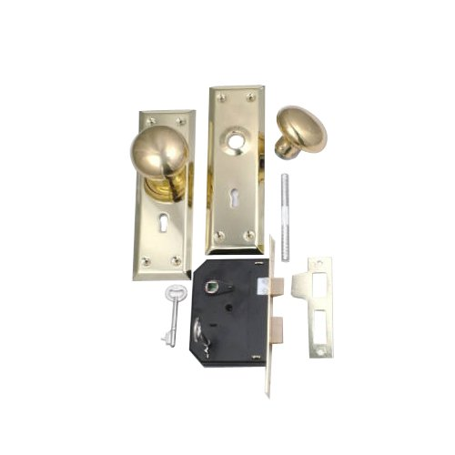 Belwith Products 1129 Knob/Mortise Lock, Brass by BELWITH PRODUCTS LLC