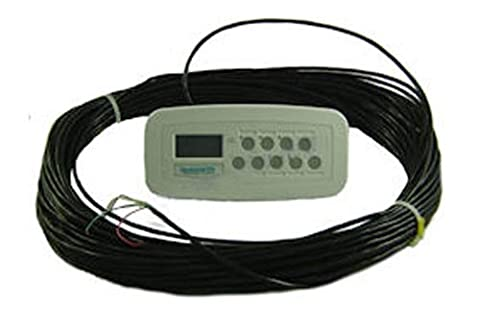 Zodiac 7227 White 8-Function SpaLink Remote Replacement for Zodiac Jandy AquaLink RS Control System,