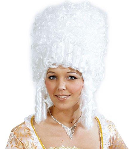 Kostüm Zubehör Damen Perücke Madame Pompadour zu Karneval, Halloween (Madame De Pompadour Kostüm)