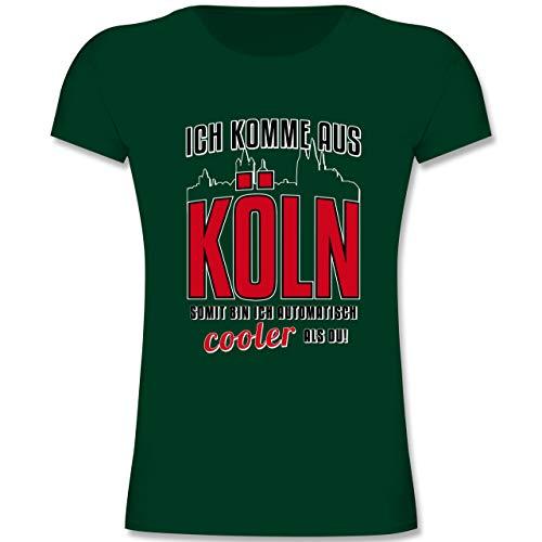 Städte & Länder Kind - Ich komme aus Köln - 164 (14-15 Jahre) - Tannengrün - F131K - Mädchen Kinder ()