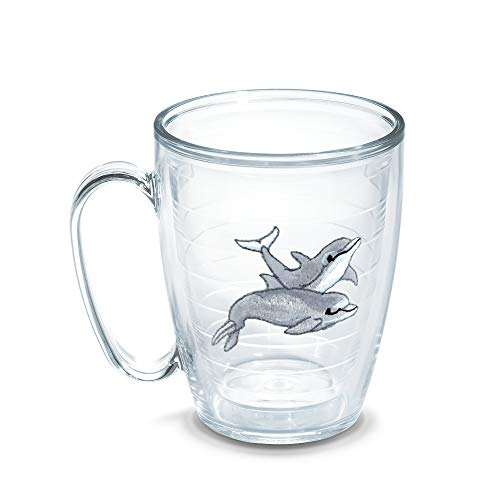 Tervis Dolphins 15-Ounce Mug, Boxed by Tervis (Becher Oz Tervis 15)
