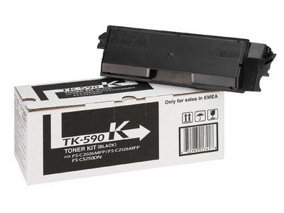 Preisvergleich Produktbild Kyocera Mita TK-590 Black - ORIGINAL - (TK-590K - 1T02KV0NL0) - ORIGINAL TK 590 Toner - B-Ware