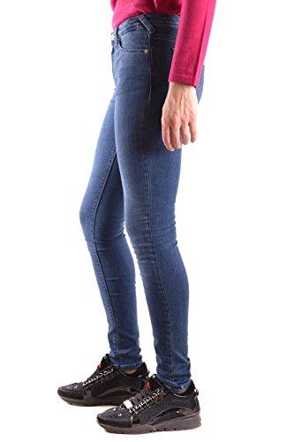 ARMANI JEANSDenim scuro J28 5 tasche elasticizzato strass tasche donna,  Jeans Scuro