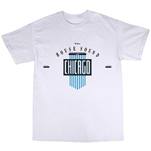 Men's House Sound Of Chicago T-Shirt in 3 Colours - S to 3XL