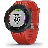 Garmin Forerunner 45, Orologio Smart GPS per la Corsa e Altri Sport Unisex, Rosso, L