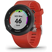 Garmin Forerunner 45/G Reloj Multisport, Adulto, Unisex, Rojo, L