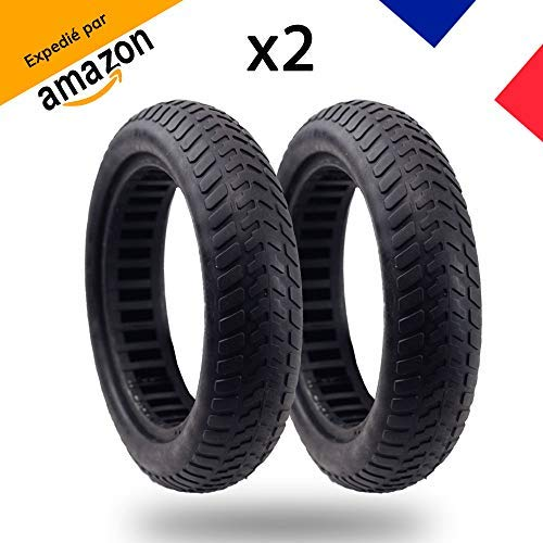 MagicBike®] 2 Full Cellular Tires Anti puncture For scooter Xiaomi M365 8 1  / 2x2   Puncture-proof solid tires made of 36 internal cells   Tubeless