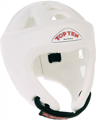 adidas Top Ten Kopfschutz Avantgarde-White-Large, weiß