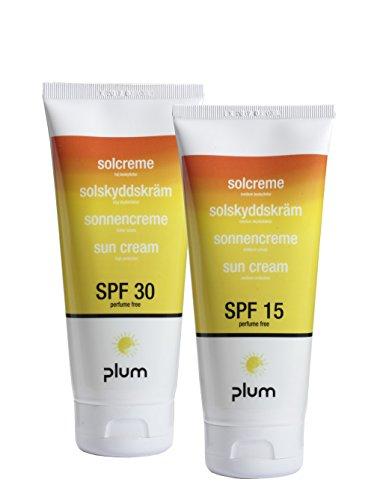 Plum 3002 Sonnencreme, Tube LSF 15, 200 mL (12-er Pack)
