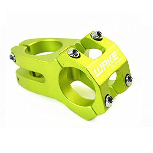 Wake 31.8 Vorbau 45mm Mountainbike Vorbau Kurzer MTB Vorbau für 31.8mm Lenker, die meisten Mountainbike Rennrad MTB BMX Grün