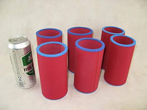 Bierkühler Neoprenkühler 5er Set Getränkekühler 0,33l Flasche passgenau