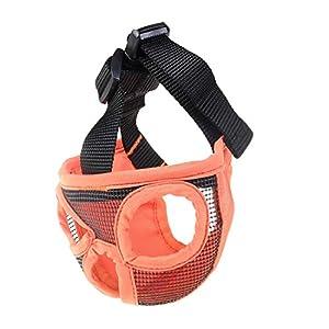 WEATLY Anti-Morsure Anti-Pet Masque Chien à Nez Court Respirant Masque de Maille Fournitures de Formation de Chien