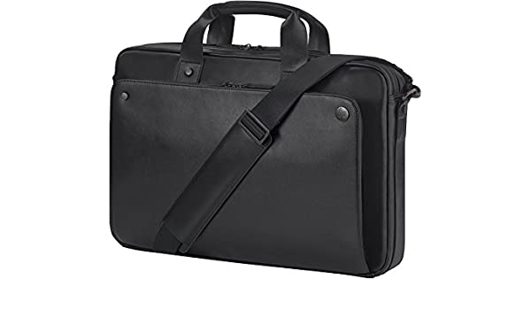 2857194b7c HP Executive 17.3 inch Black Leather Top Load: Amazon.fr: Informatique