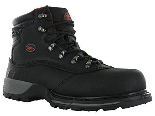 Workforce WF HyDRY imperméable en cuir avec embout en acier de sécurité bottes de travail Noir