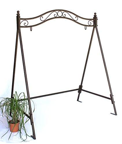 Gestell für Schaukel 082505 Hollywoodschaukel aus Eisen Schaukelgestell Metall