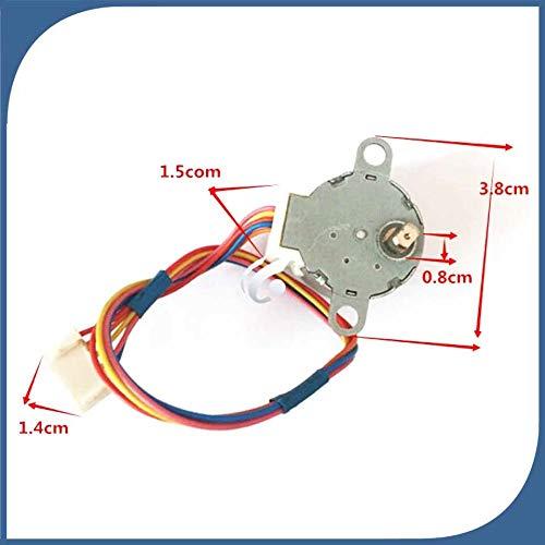 Wnuanjun, 1 stücke neue gute arbeits für klimaanlage steuerkarte motor 28BYJ48 = MP24GA DC 5 Draht Schrittmotor -