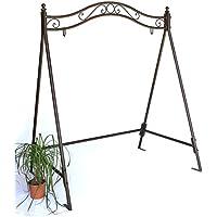 Estructura para balancín 082505 columpio de jardín de hierro, ...