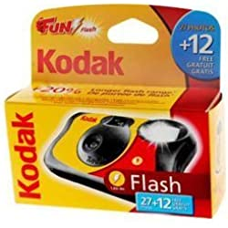 Kodak Fun Camera jetable 27 + 12 exp avec Flash