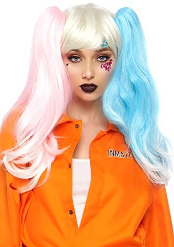 Puppe Perücken Kostüm - Leg Avenue A2784 - Puppe Perücke, Damen Karneval Kostüm Fasching, Einheitsgröße, Mehrfarbig