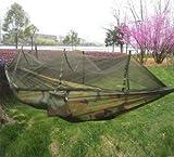 Bureze Ultralight Outdoor, Campeggio, Caccia zanzariera Paracadute Amaca 2Persona Flyknit Hamaca Garden Hamak Appeso Letto Leisure Hamac Camouflage Nets