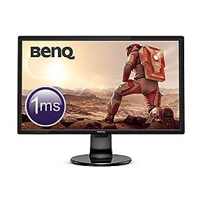 BenQ GL2706PQ 68,58 cm (27 Zoll) LED Gaming Monitor (HDMI, QHD 2K Eye-Care, Höhenverstellung, Display Port, 1ms Reaktionszeit)