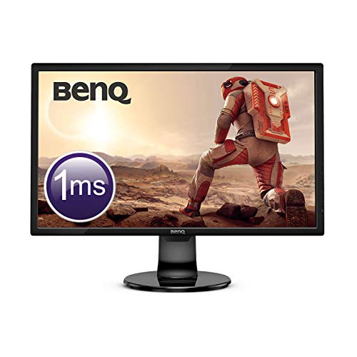 BenQ GL2460BH 60,96 cm (24 Zoll) Monitor (HDMI, 1ms, 75Hz, Full HD LED, B.I. Sensor, Eye-Care) (Monitore Computer Für)
