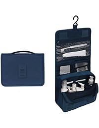 ColorMixs®Colgante portable portable del artículo de tocador del organizador impermeable bolsa de cosméticos bolsa de viaje / Viaje con compartimentos múltiples para mujeres y hombres