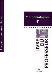 Maths 4e : Livre du professeur
