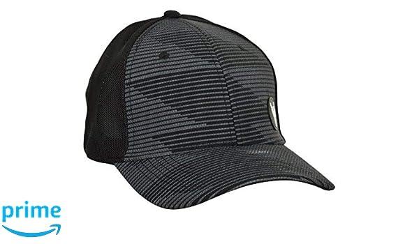c5ef5a5e9ca BlackBuck Men s Grey   Black Printed Adjustable Hip hop Cap  Amazon.in   Clothing   Accessories