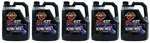 Penrite MC-4 Olio Semi Sintetico 10W-30 per Moto a 4 Tempi, 20 Lit