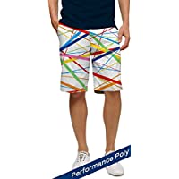 Loudmouth Golf Stix White Mens Shorts (36)
