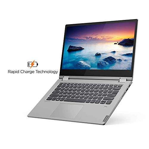 Lenovo Ideapad C340 8th Gen Intel Core i5 14 inch FHD 2 in 1 Convertible Laptop (8GB RAM/1TB SSD/Windows 10/MS Workplace/Platinum/1.65Kg), 81N400JMIN Image 6