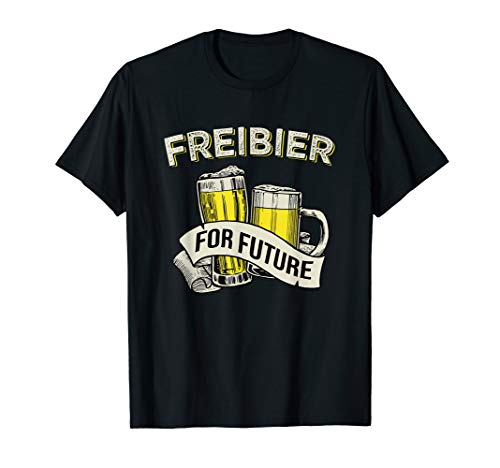 Freibier For Future T-Shirt