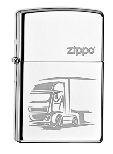 Zippo 60.000.500 Feuerzeug Truck, Spring 2015, Chrome high Polished