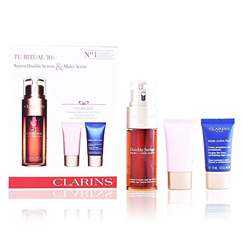 CLARINS TU RITUAL 30+ NUEVO DOUBLE SERUM & MULTI-ACTIVE SET