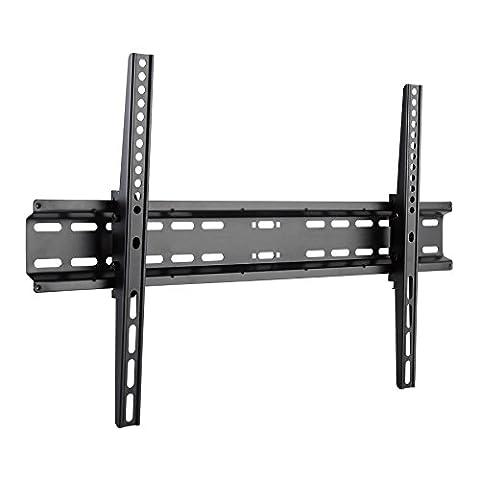 SAVONGA universelle TV Wandhalterung #064 neigbar, für 37 bis 70 Zoll Flachbildschirm, Fernseher, TV, unterstützt VESA: 100x100, 200x100, 200x200, 400x200, 400x400,