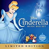 Disney Cinderella Music Box Set 3 Disc LIMITED EDITION SET 2 CD / 1 DVD (Tangled Ever After Short)